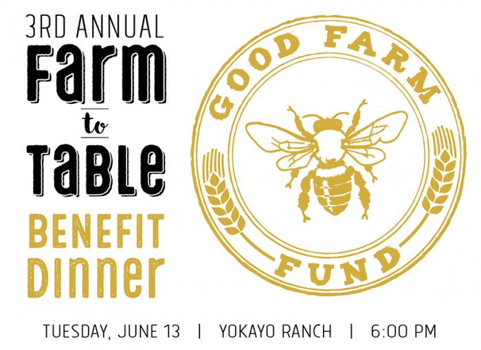 Good Farm Fund Annual Benefit Dinner Poster