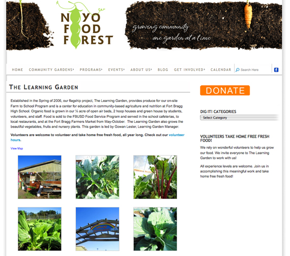 noyo food forest website