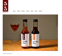 FIve by Five Tonics Website