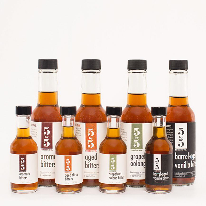 5×5 Tonics Packaging