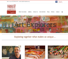Art Explorers Website