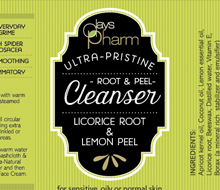 Days Pharm Cleanser and Toner Labels