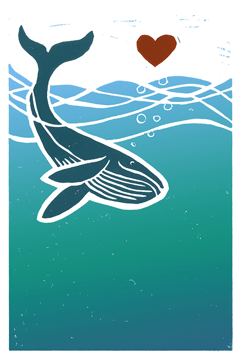 One Ocean One Heart Illustration