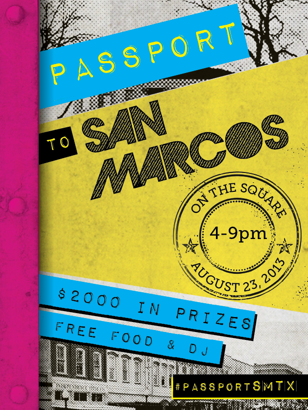 Passport – City of San Marcos Main Street Program