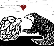 Pangolin and Artichoke